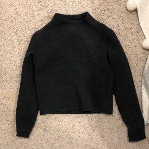 Lululemon dark grey sweatshirt